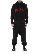 Y-3 Logo Yohji Jumpsuit - Black