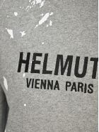 Helmut Lang Slpatter Effect Hoodie - GREY SPLATTER
