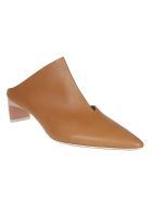 Gray Matters Matter Pointed Mules - Tan Light Pink