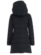 Woolrich Puffy Prescott Padded Jacket W/hood - Midnight Blue