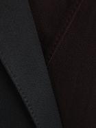 Haider Ackermann Wrap Tux Dress - Chocolate