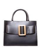 BOYY Bobby 32 Black Smooth Leather Handbag - Black