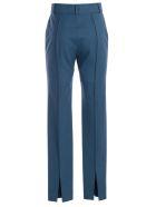 SSHEENA Pants Skinny Gabardine Wool - Blue