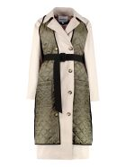 H2OFagerholt Lolclon Double-breasted Trench Coat - Beige