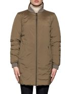 Woolrich Army Green Down Jacket Reverse - Green