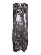 Paco Rabanne Aluminium Dress - Black