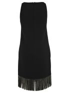 Philosophy di Lorenzo Serafini Philosophy Fringed Dress - BLACK