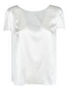 Emporio Armani Classic Plain Top - Bianco
