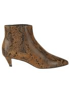 Celine Chelsea Ankle Boots - Caramel