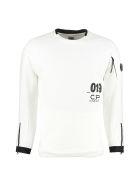 C.P. Company Cotton Crew-neck Sweatshirt - panna