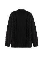 Dolce & Gabbana Wool And Cashmere Cardigan - black