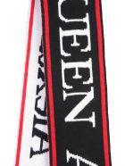 Alexander McQueen Scarf With Logo - NERO