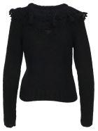 Philosophy di Lorenzo Serafini Philosophy Ruches Collar Sweater - BLACK