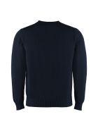 Drumohr Cotton V-neck Pullover - blue