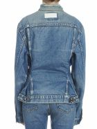 RE/DONE 'corset Jacket' Jacket - Light blue