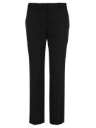 Givenchy Satin Panelled Tuxedo Trousers - BLACK