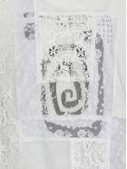 McQ Alexander McQueen Lace T-shirt - WHITE/CREAM