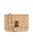 Burberry Sm Tb Bag Ttb Shoulder Bag - Bright Orange
