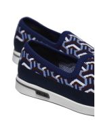 Prada Linea Rossa Patterned Slip-on Sneakers - Multicolor