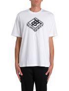 Burberry Tb Logo T-shirt - Bianco