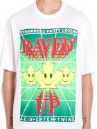 Dsquared2 'raved Up' T-shirt - White