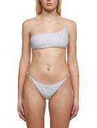 Oseree Glittered Bikini - Silver