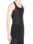 Rick Owens 'basic Rib Tank' Top - Black