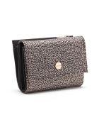 Borbonese Medium Wallet W/zip - Op Naturale/marrone