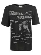 Saint Laurent T-shirt - Noir/gris