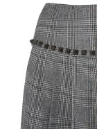 Versace Collection Pleated Skirt - GRIGIO