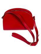 A.P.C. Demi Lune Shoulder Bag - Rouge