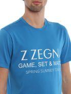 Z Zegna Logo Print T-shirt - Basic