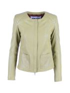 S.W.O.R.D 6.6.44 Leather Jacket - Lime