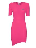 GCDS Fitted Fluo Dress - Pink