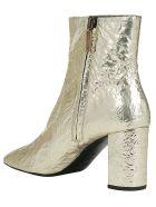 Saint Laurent Lou Boots - Platino