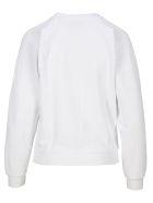 Maison Kitsuné Maison Kitsune Fox Patch Sweatshirt - WHITE