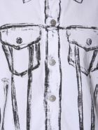 MM6 Maison Margiela Sleevless Shirt - BIANCO