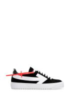 Off-White Suede Sneakers - black