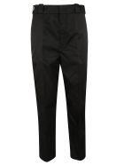 Prada Woven Trousers - Black