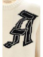 Alexander McQueen 'skull' Sweater - Beige