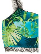 Versace 'jungle' Top - Green