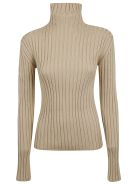 Chloé Turtleneck Sweater - Light camel