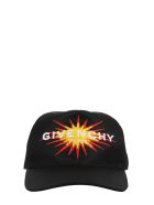Givenchy Black Curved Cap - Black
