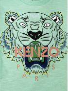 Kenzo Green Cotton T-shirt - Menta