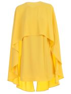 Sara Battaglia Cape Dress - Giallo