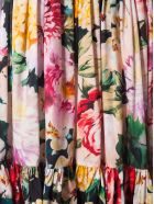Dolce & Gabbana Floral Skirt - Nero