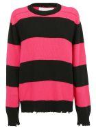 Riccardo Comi Sweater - Fucsia/nero