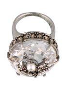 Alexander McQueen Spider Ring - Silver