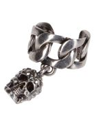 Alexander McQueen Silver-tone Steel Ear Cuff - Silver