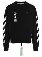 Off-White Off White Mariana De Silva Print Sweatshirt - BLACK